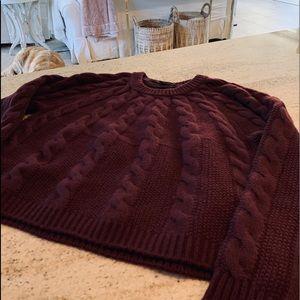 Burberry Wool Sweater Small Petite